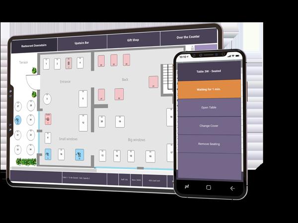 FT LS Central for restaurants-restaurant pos-Table management-tablet-mobile