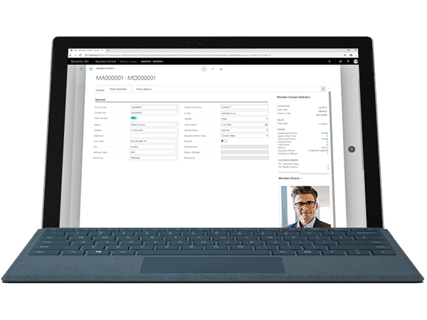 FT LS Central for retail-Increase customer retention-surface pro-tablet-back office