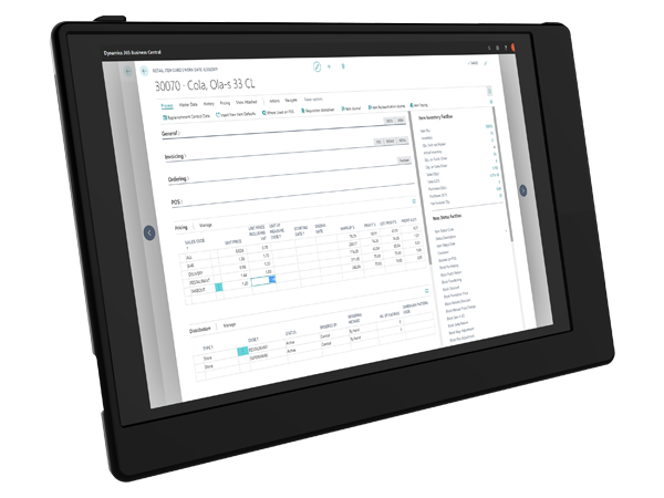 FT LS Forecourt-Flexible price management-LS Central back office-mepos-tablet