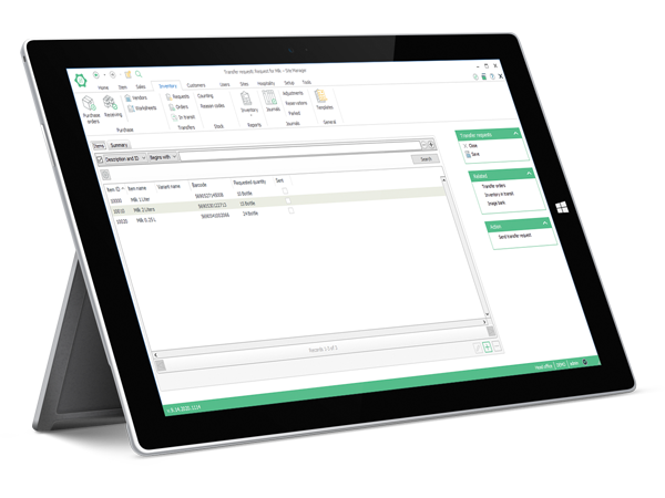 FT LS One for retail-inventory management-Keep your stock under tight control-tablet-surface pro