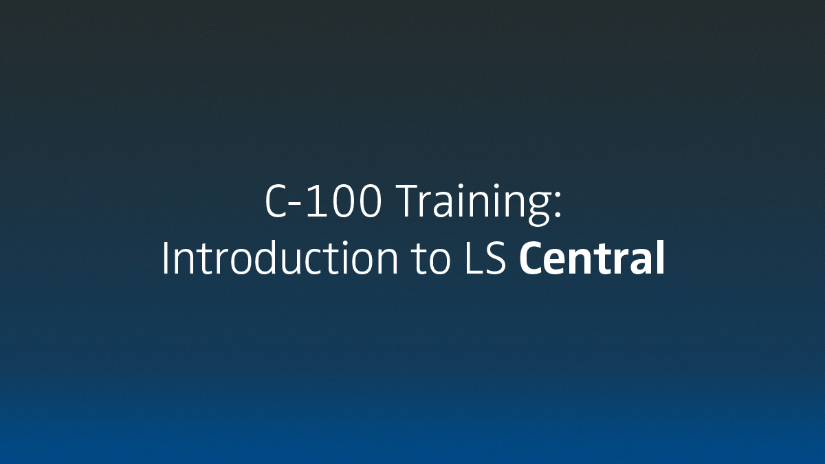 LS Academy training C-100