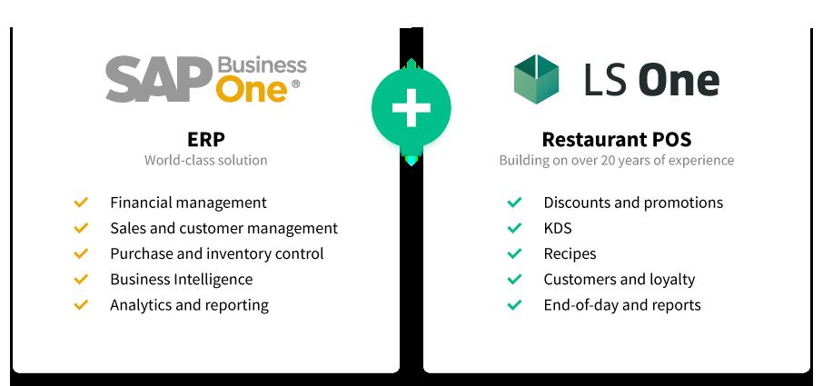 SAP-plus-one restaurant