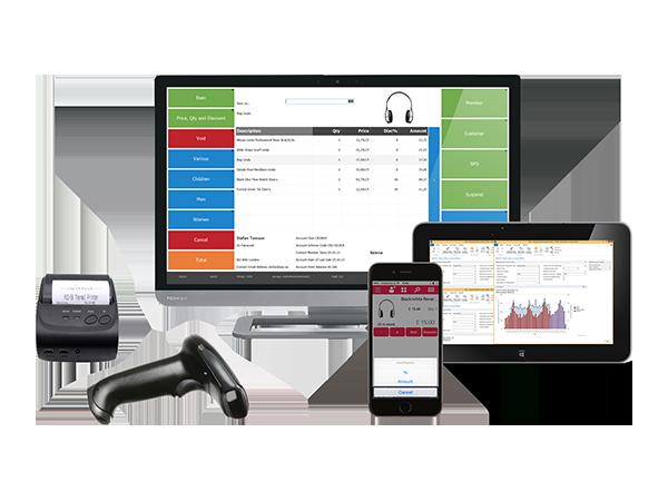 multiple devices scanner LS Nav mobile desktop