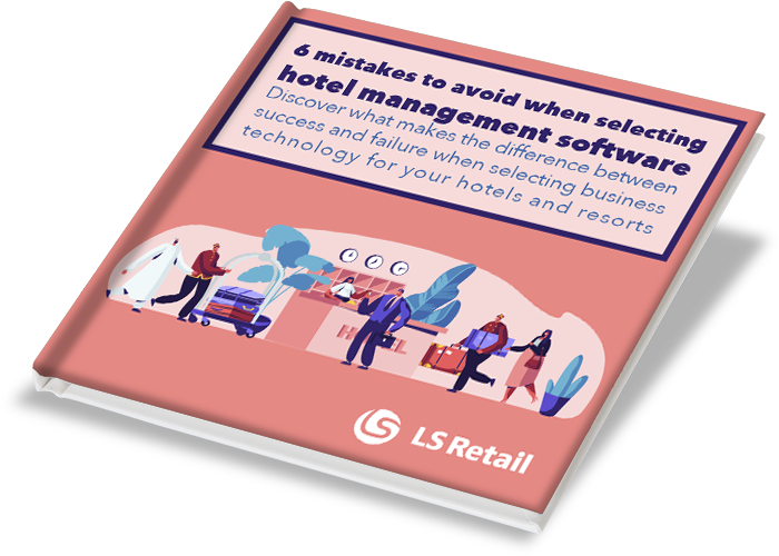 (Cover mockup) 6 mistakes to avoid when selecting hotel management software