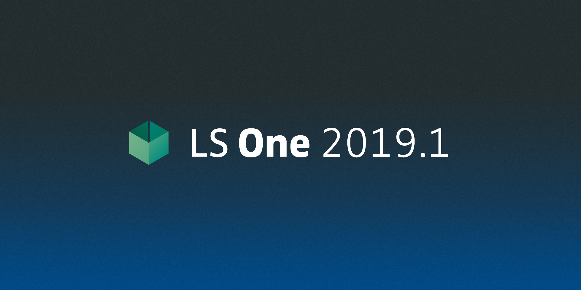 LS One 2019.1: improved performance, now integrated to SAP HANA