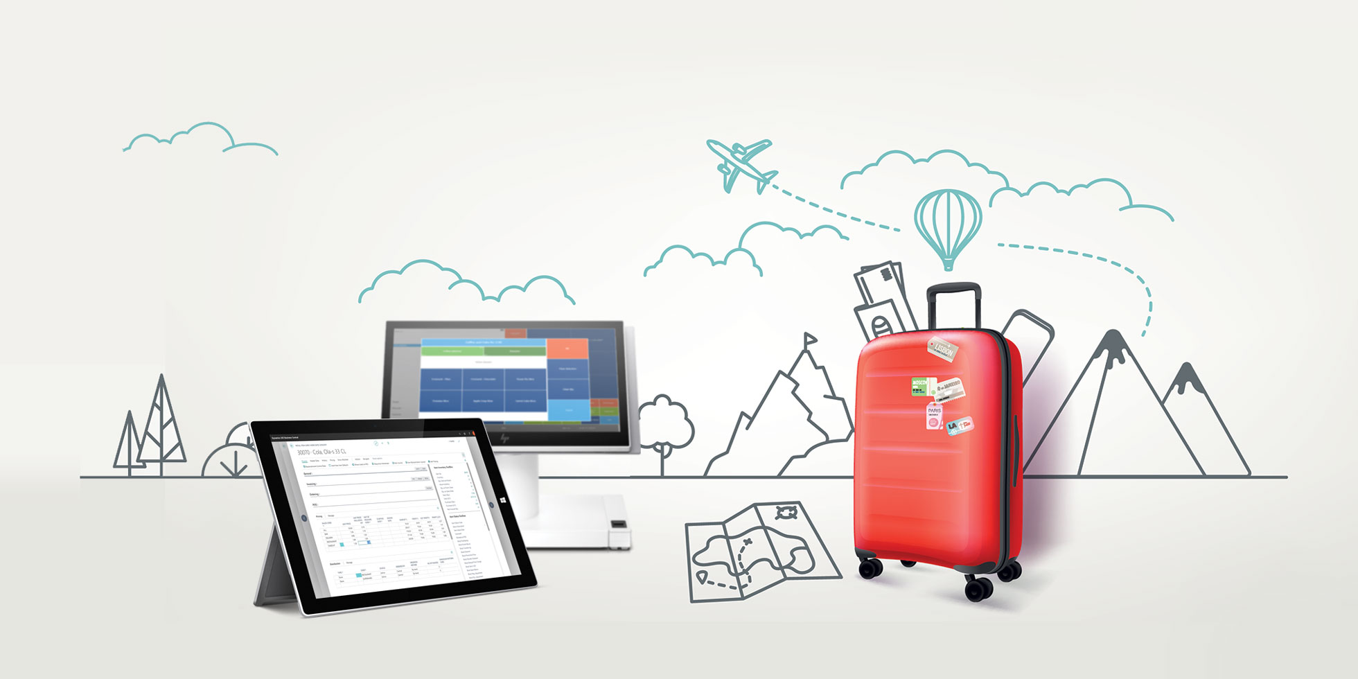 Trains, planes and ferry boats: finding the right software solution for each travel retail business