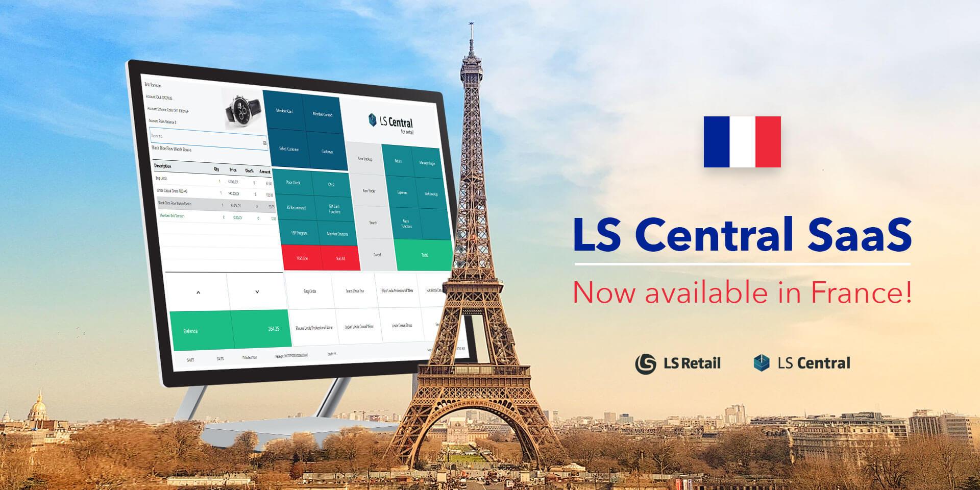 LS Central SaaS, logiciel de commerce unifié, est maintenant disponible en France