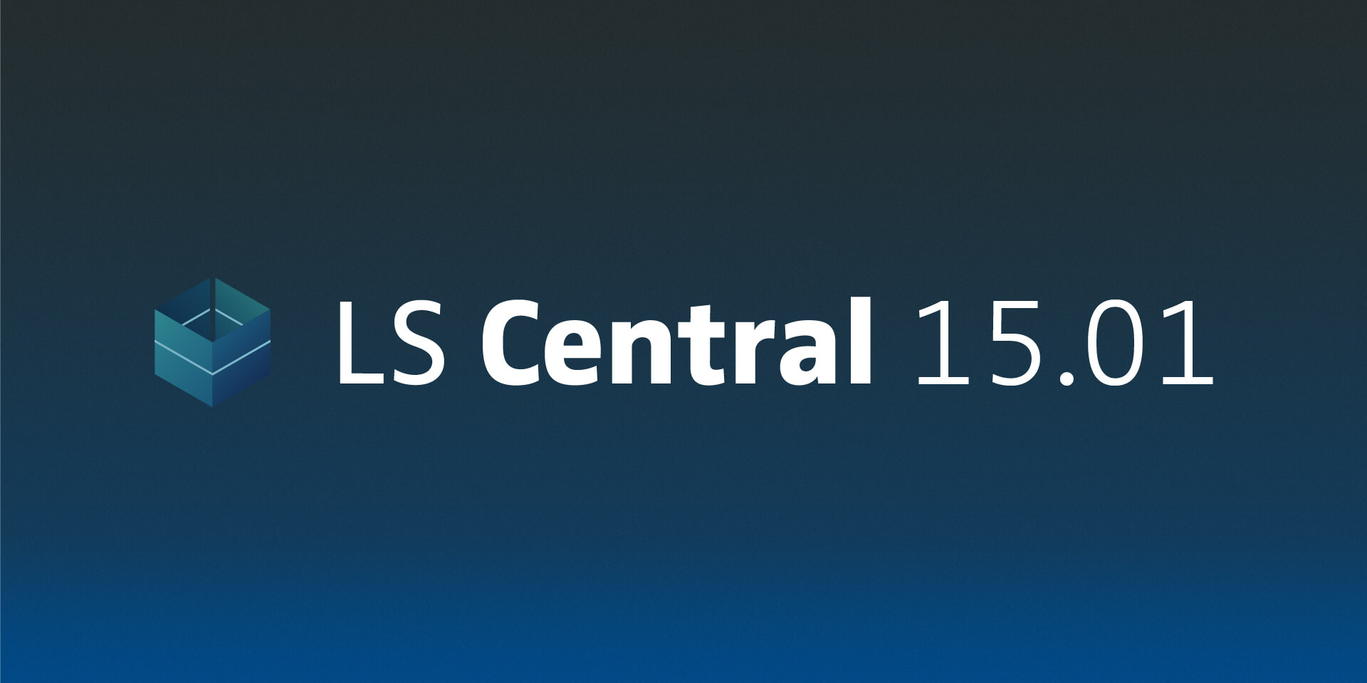 LS Central 15.01: improved item import, strengthened LS Central App