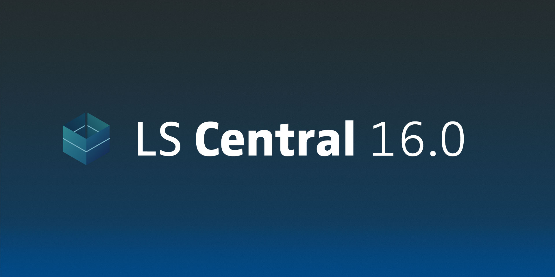 LS Central 16.0: official release of LS Forecast, new LS Central AppShell for Windows