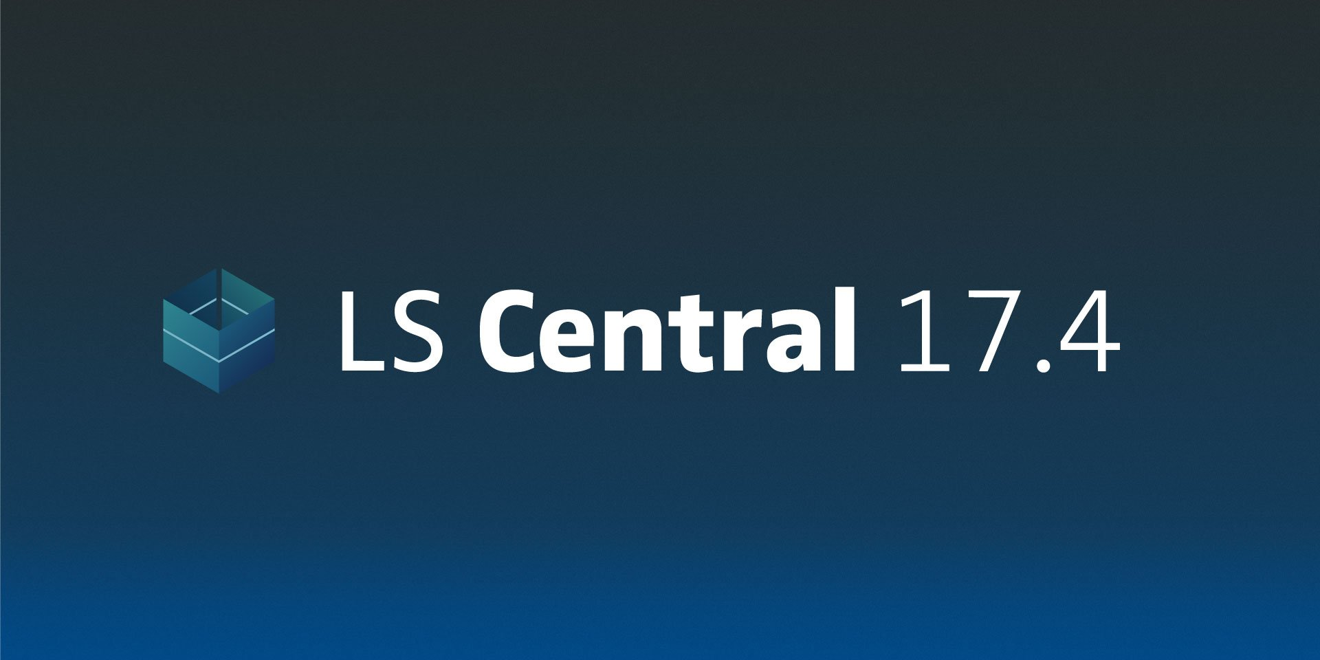 LS Central 17.4 has been released