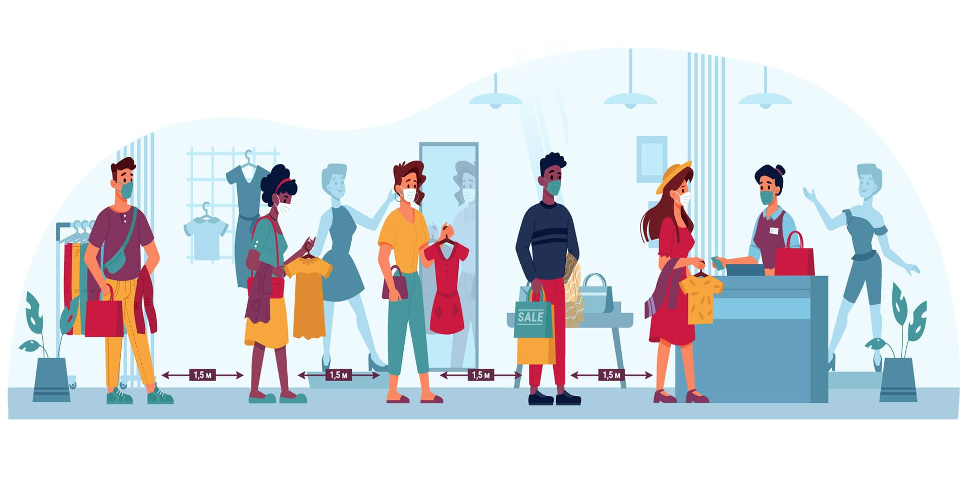 How to reduce queues in your retail store and keep customers safe