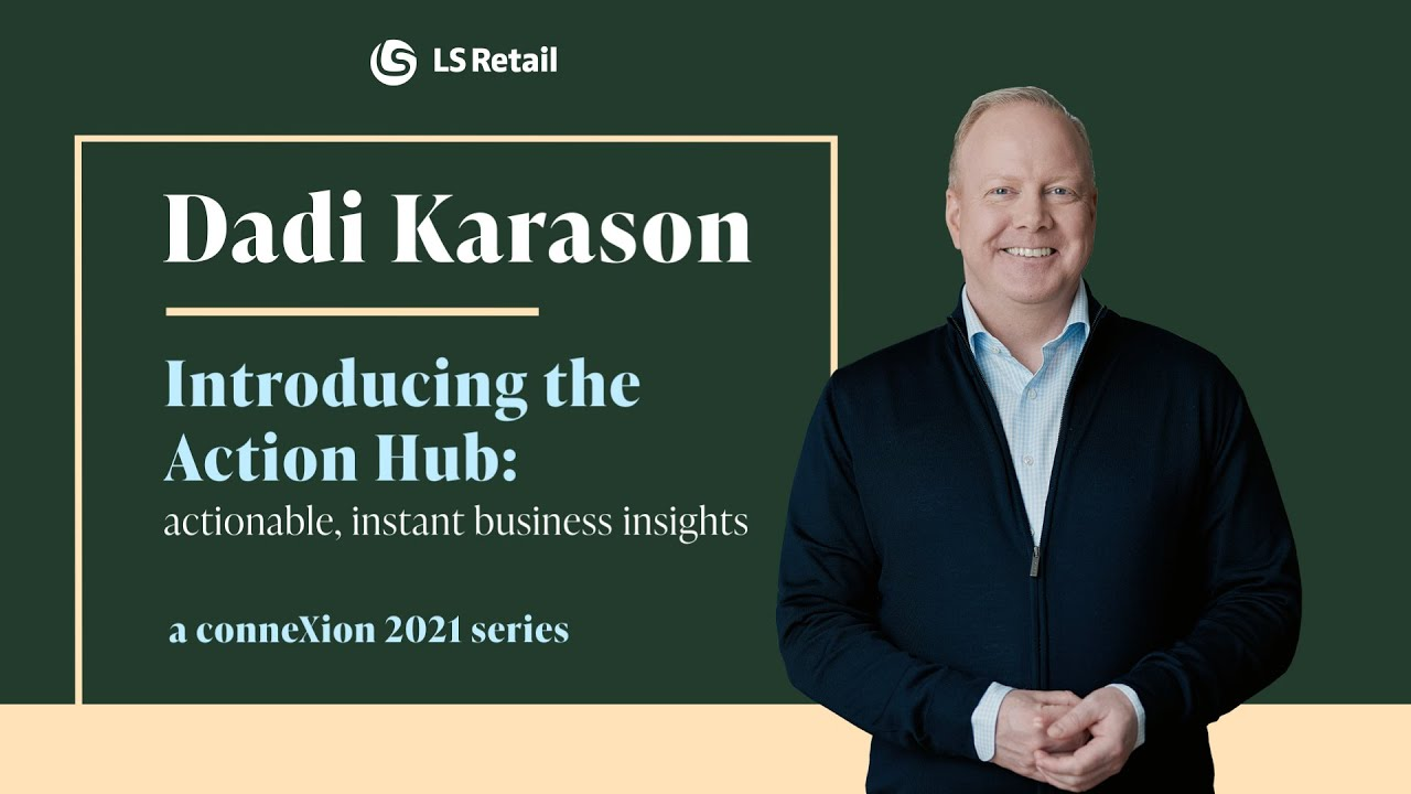 Dadi Karason - Introducing the Action Hub actionable, instant business insights