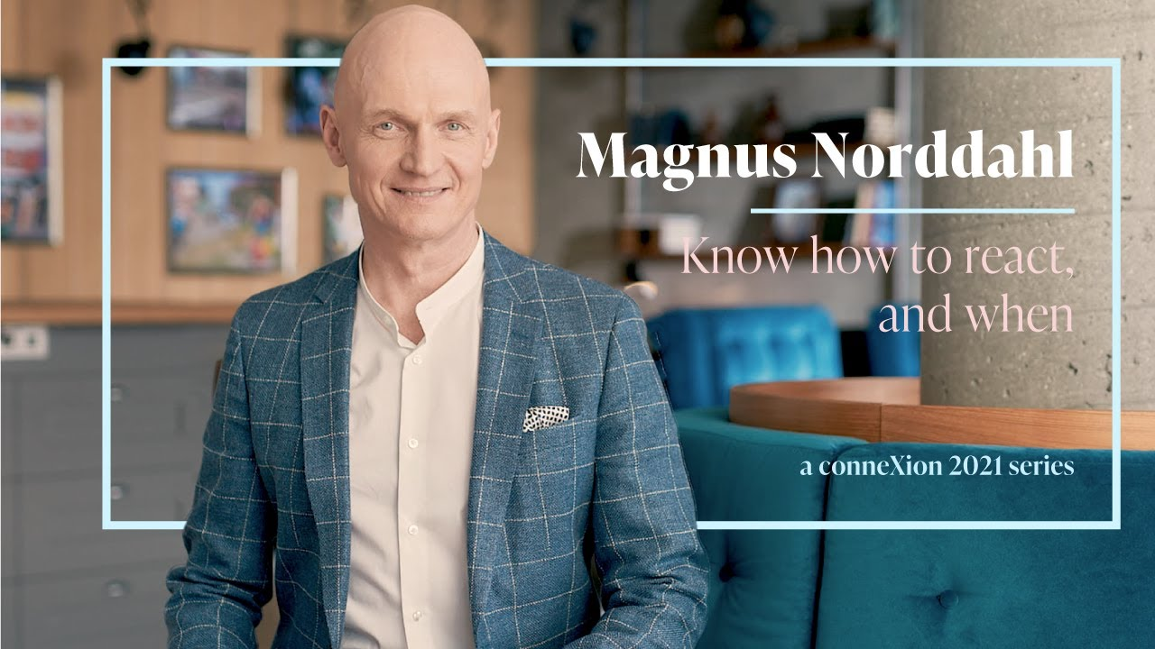 Magnus Norddahl - Know how to react, and when