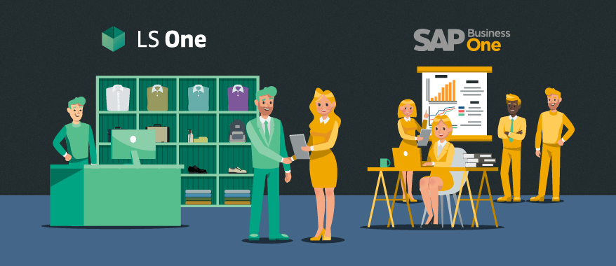 New partnership with SAP and out-of-the-box integration between LS One and SAP Business One
