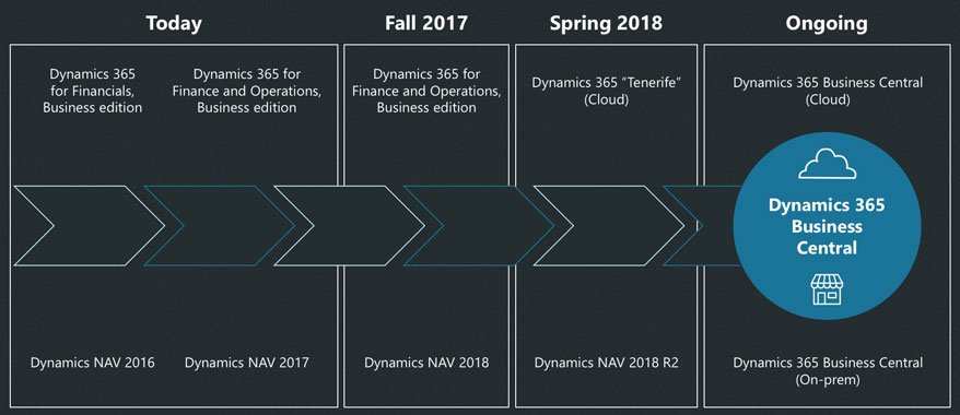 2018 and Business Central: the next two lives of Dynamics NAV